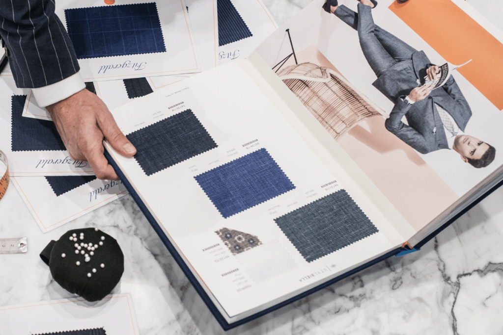 Brent Wilson Book a initial tailor Consultation For Business Suits