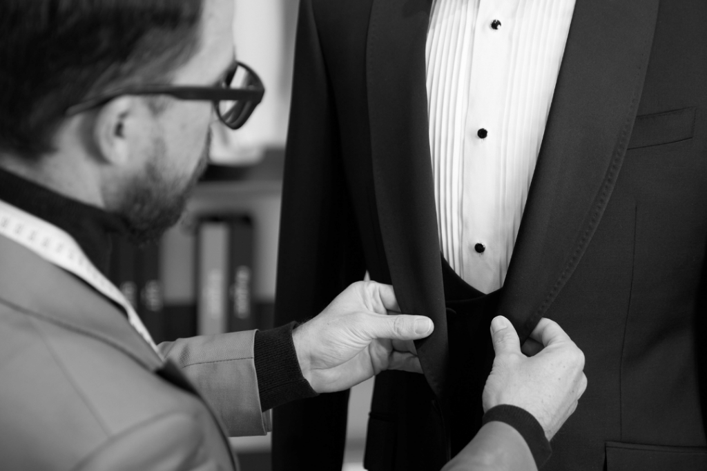 Brent Wilson First Fitting Wedding Suits Booking