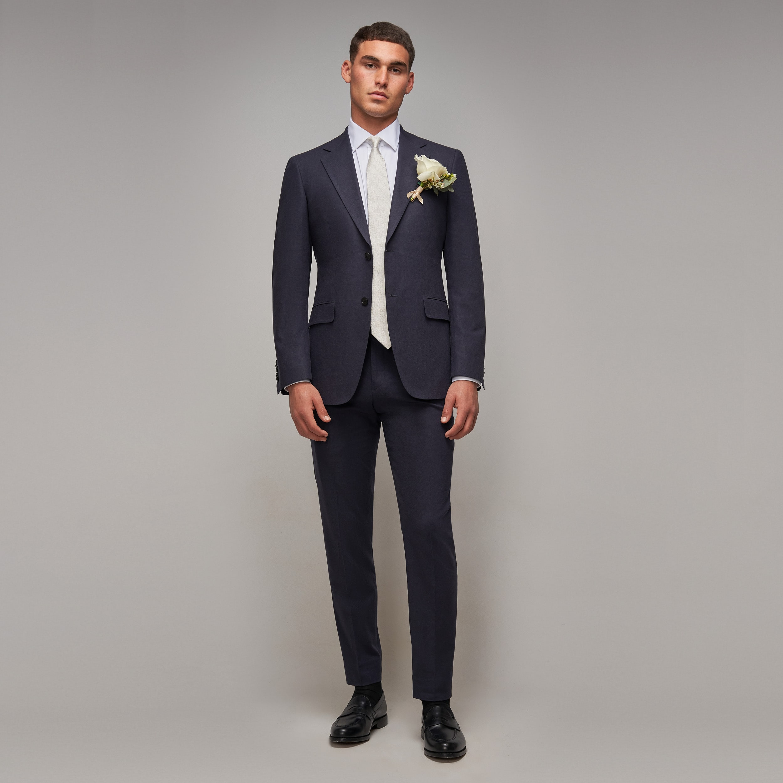 Brent Wilson Blue Wedding Suits Collection