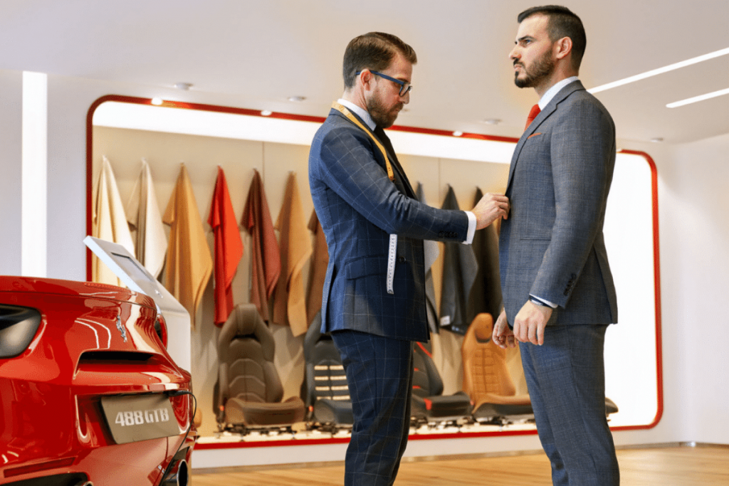 Brent Wilson Book a Second tailor Consultation For Corporate Suits