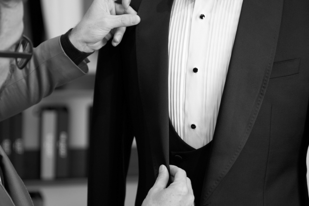 Brent Wilson Wedding Suits Book a consultation